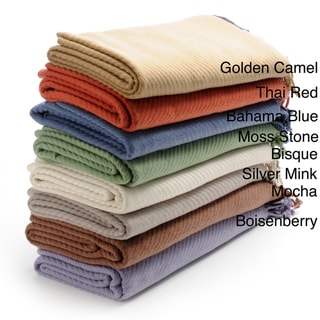 Oversized Pure Cashmere Throw