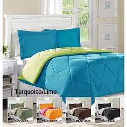 Home Essence Columbine Twin-size Down Alternative 2-piece Comforter and Sham Set