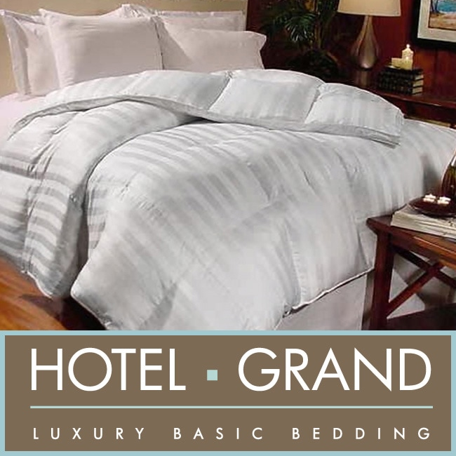 AT HOME by O Hotel Grand Milano 800 Thread Count Hungarian White Goose Down Comforter at Sears.com