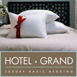 Hotel Grand Naples 700 Thread Count Siberian White Down Pillow