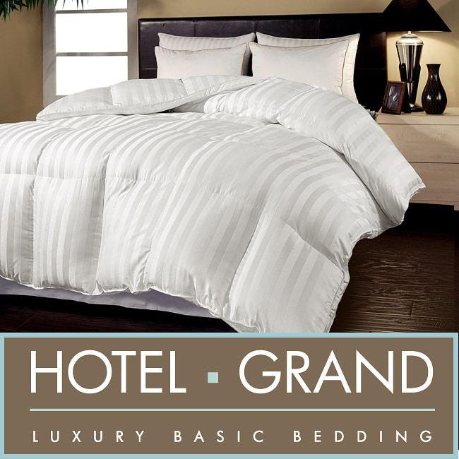 AT HOME by O Hotel Grand Oversized Luxury 500 Thread Count Down Alternative Comforter at Sears.com