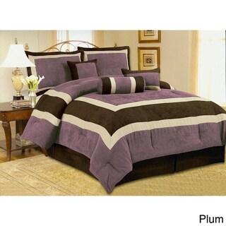 Hotel Microsuede 7-piece Comforter Set
