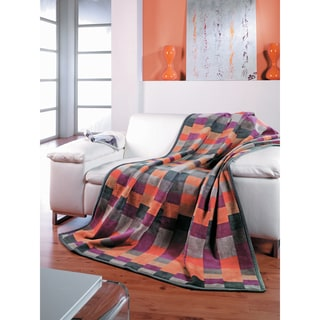 Sorrento Color Blocks Oversized Throw