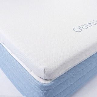 Invigo Fresh Natural Latex and Foam 3-inch King-size Mattress Topper