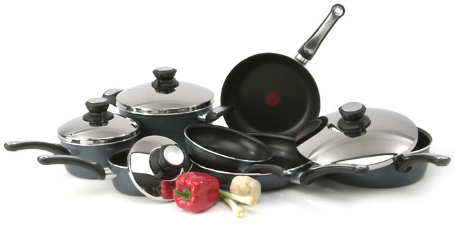 T-Fal Perfection 11-piece Cookware Set