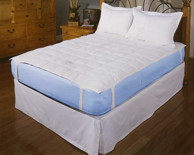 Feather and Down Mattress Pad Topper