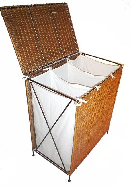 Triple Compartment Laundry Hamper (Indonesia)