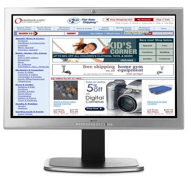 HP Flat Panel Monitor 23 1920x1200 WUXGA (Refurbished)