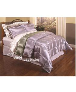 Satin Down Comforter Set