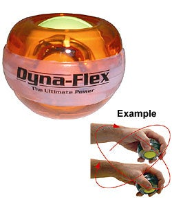 Dynaflex Power Ball Amber Gyro Wrist Exerciser