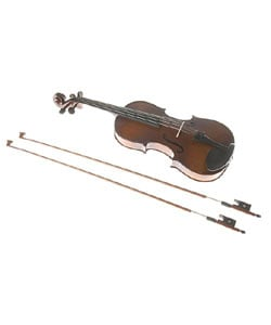 Classic Euro-design Intermediate Level Carved Violin with Accessories