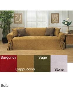 Microsuede Loveseat Slipcover