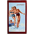 Jantzen 'Deep End' Oversized Luxury Beach Towel