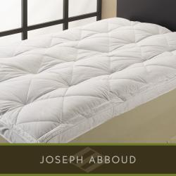 Joseph Abboud Deep Support Natural Down-on-top Cotton-shell Featherbed