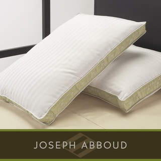 Joseph Abboud Luxury 300 Thread Count Damask Down Blend Pillows (Set of 2)