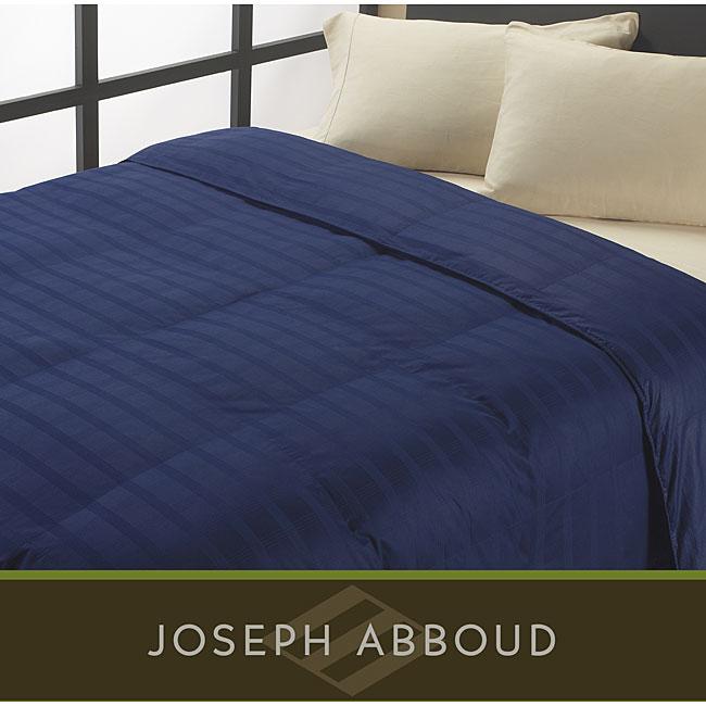 Joseph Abboud Oversized 325 Thread Count Egyptian Cotton Down Alternative Comforter