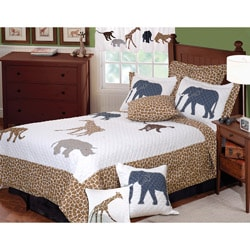 Jungle Story 3-piece Quilt Set