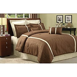Kabini Brown 8-piece Comforter Set