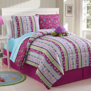 Khloe Reversible 4-piece Comforter Set