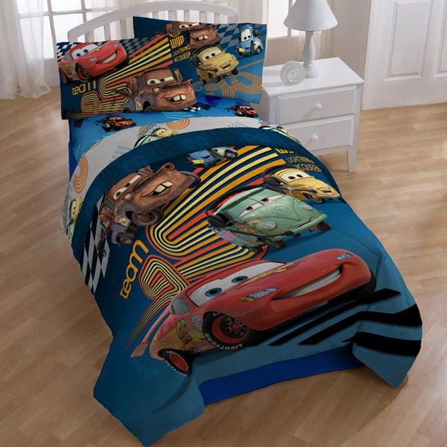 disney pixar cars full size seven piece cotton polyester
