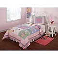 Anna&#39;s Daydream Embellished 3-piece Quilt Set