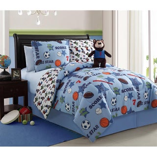Bear Brady 4-piece Reversible Comforter Set