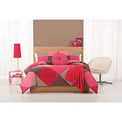 Cosmo Girl 'Pretty in Pink' 3-piece Comforter Set
