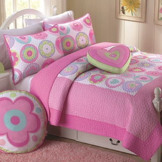 Fun Flower 3-piece Quilt Set