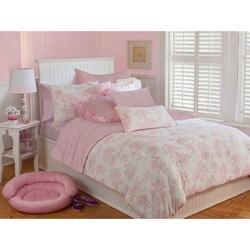Microplush Vintage Toile 3-piece Comforter Set