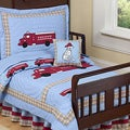 Sweet JoJo Designs Frankie's Firetruck 5-piece Toddler Boy's Bedding Set