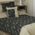 Sweet JoJo Designs Green 4-piece Twin-size Comforter Set