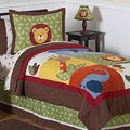 Sweet JoJo Designs Jungle Time 3-piece Full/ Queen-size Bedding Set