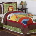 Sweet JoJo Designs Jungle Time 4-piece Twin-size Bedding Set