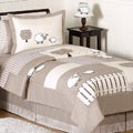 Sweet JoJo Designs Little Lamb 3-piece Full / Queen-size Bedding Set