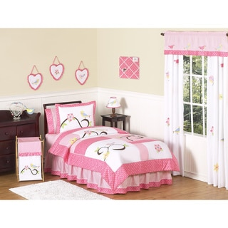 Sweet JoJo Designs Song Bird 4-piece Twin-size Bedding Set