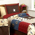 Sweet JoJo Designs Wild West Cowboy 3-piece Boy's Full/ Queen-size Bedding Set