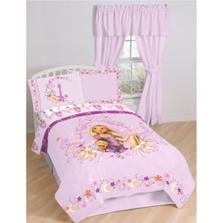 Tangled 4-piece Twin-size Bed in a Bag with Sheet Set