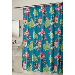 Kiki Fabric Shower Curtain and Hook Set