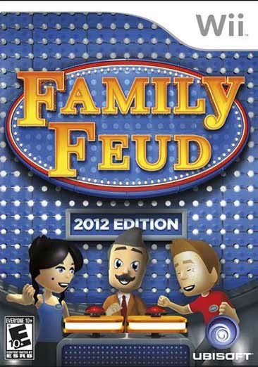 Wii - Family Feud 2012