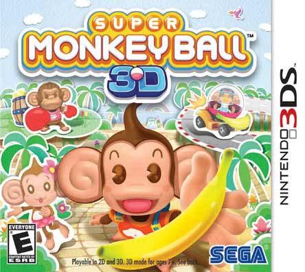 NinDS 3DS - Super Monkey Ball - By Sega
