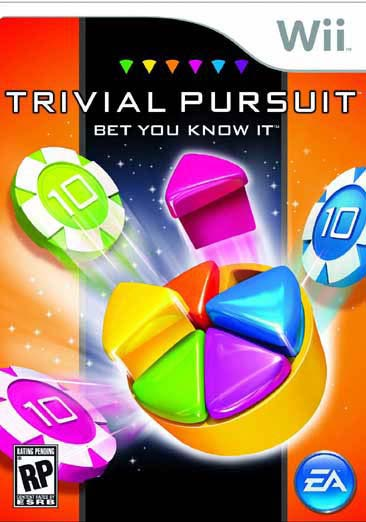 Wii - Trivial Pursuit - Bet You Know It - By Electronic Arts