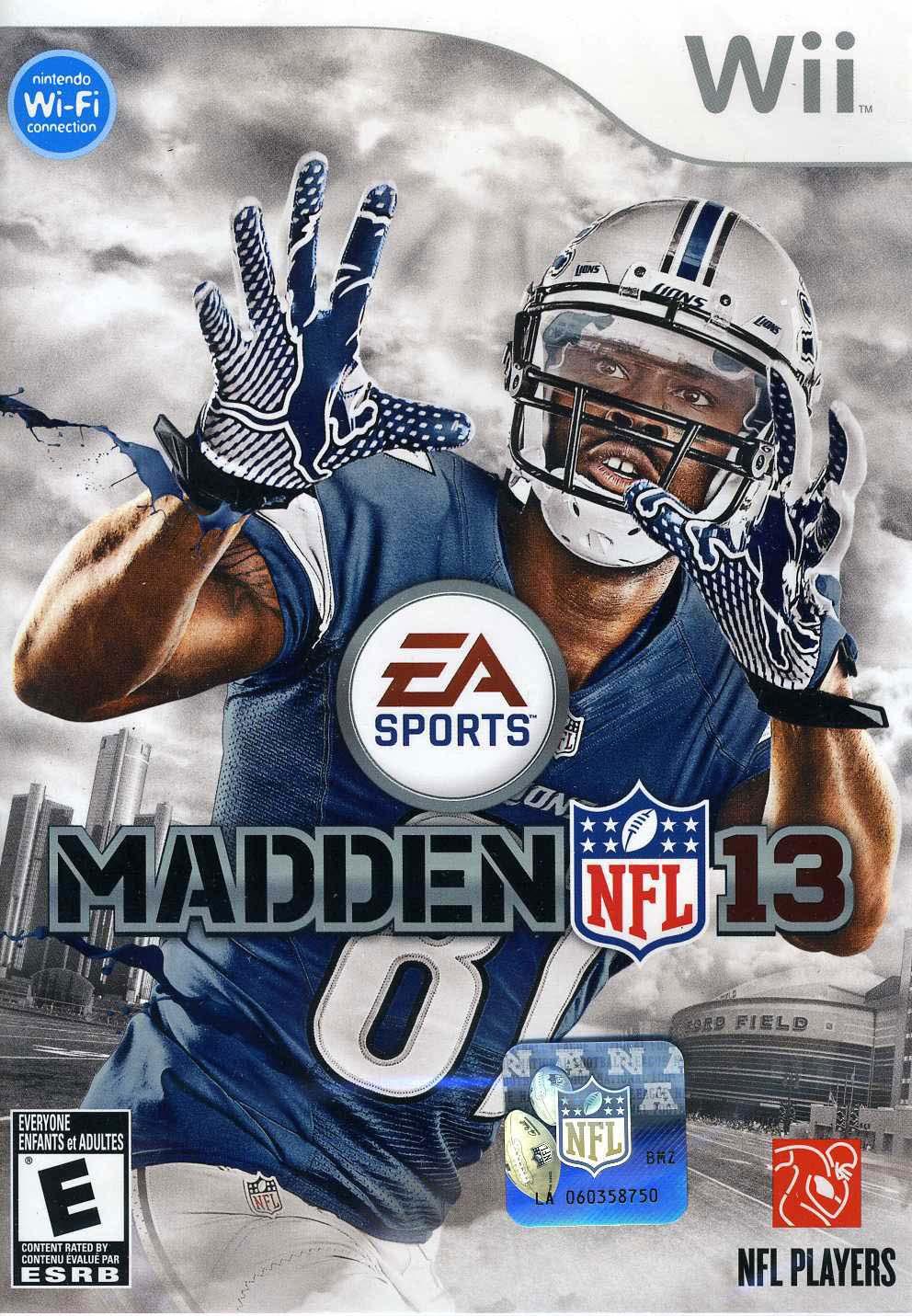 Wii - Madden NFL 13