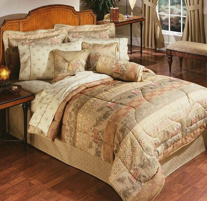 Elephant Walk Luxury Queen-size Comforter Set