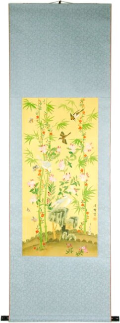 Bamboo Blossom Scroll (China)