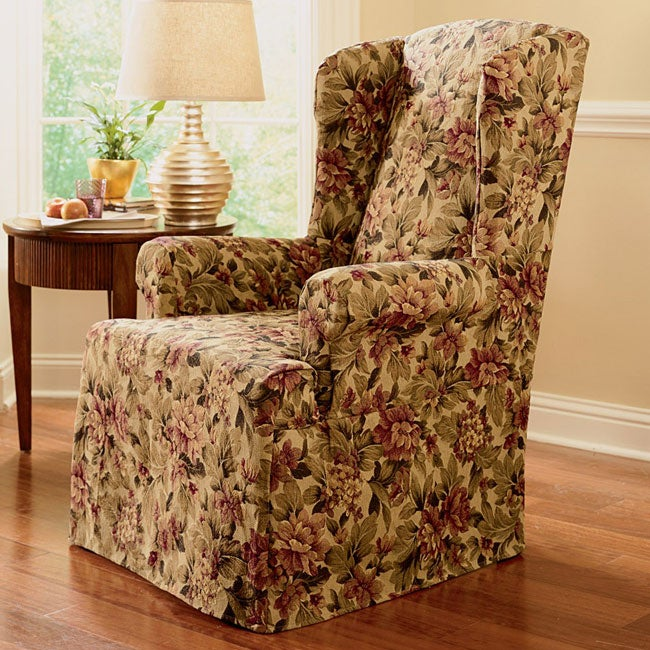 Windsor Tapestry Wing Chair Slipcover 10029963