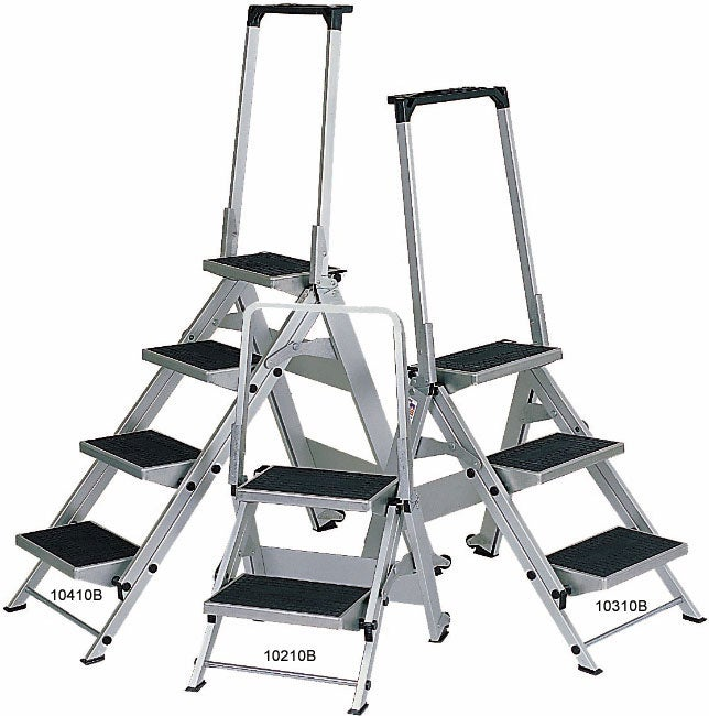 Little Jumbo 10310b 3 Step Ladder With Safety Bar