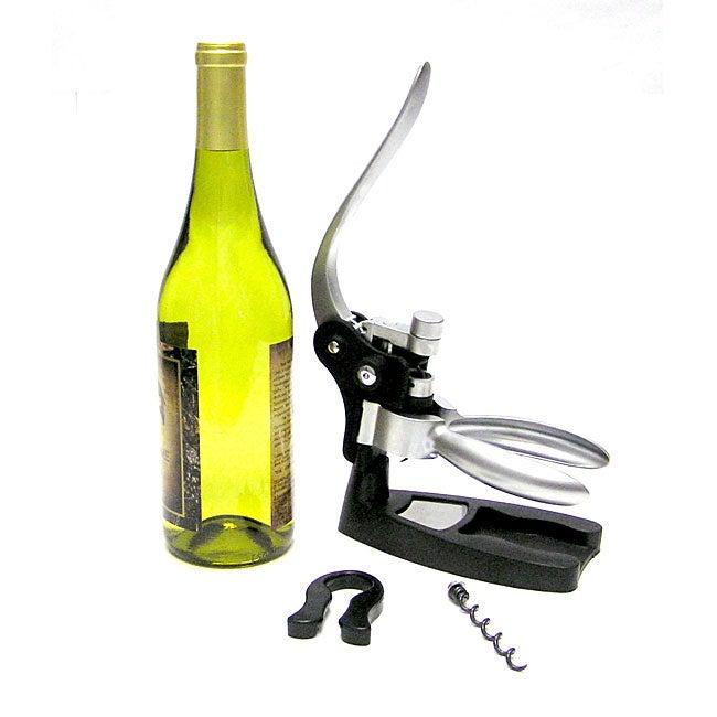 four piece zinc corkscrew opener kit 10051520 shopping great deals on bar. Black Bedroom Furniture Sets. Home Design Ideas