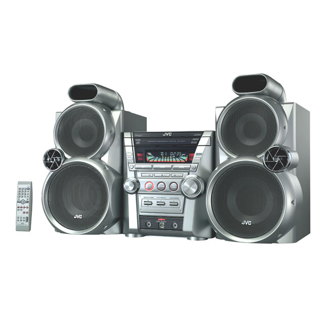 Jvc Mx Gc5 3 Disc Cd Mp3 Stereo Shelf System Refurbished