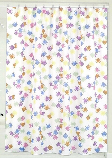 daisy bright shower curtain overstock shopping great