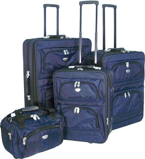 Chaps Series 4-piece Luggage Set